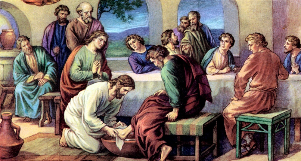 Jesus washing disciples feet at passover meal Photo from ophope.org.jpg