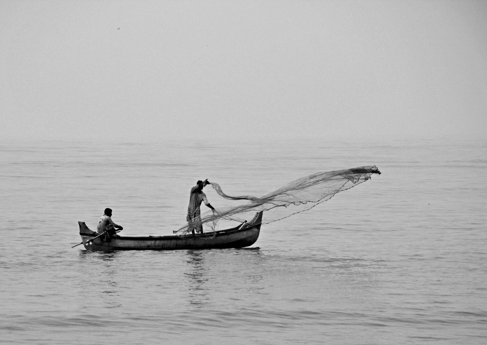 Fishing with the Cast-net
