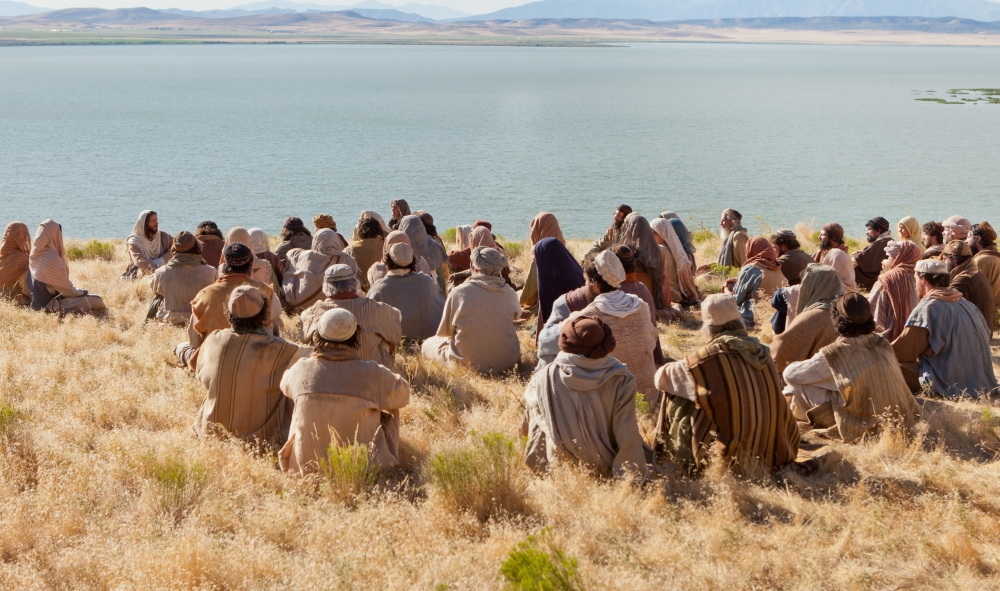 Sermon on the mount photo from LDS