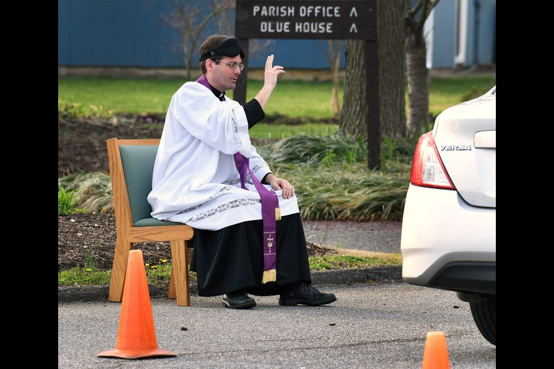 Roadside confessions photo by capitol Gazette