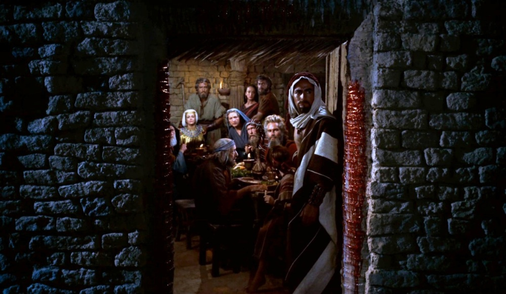 Moses on Passover from Film Freedonia