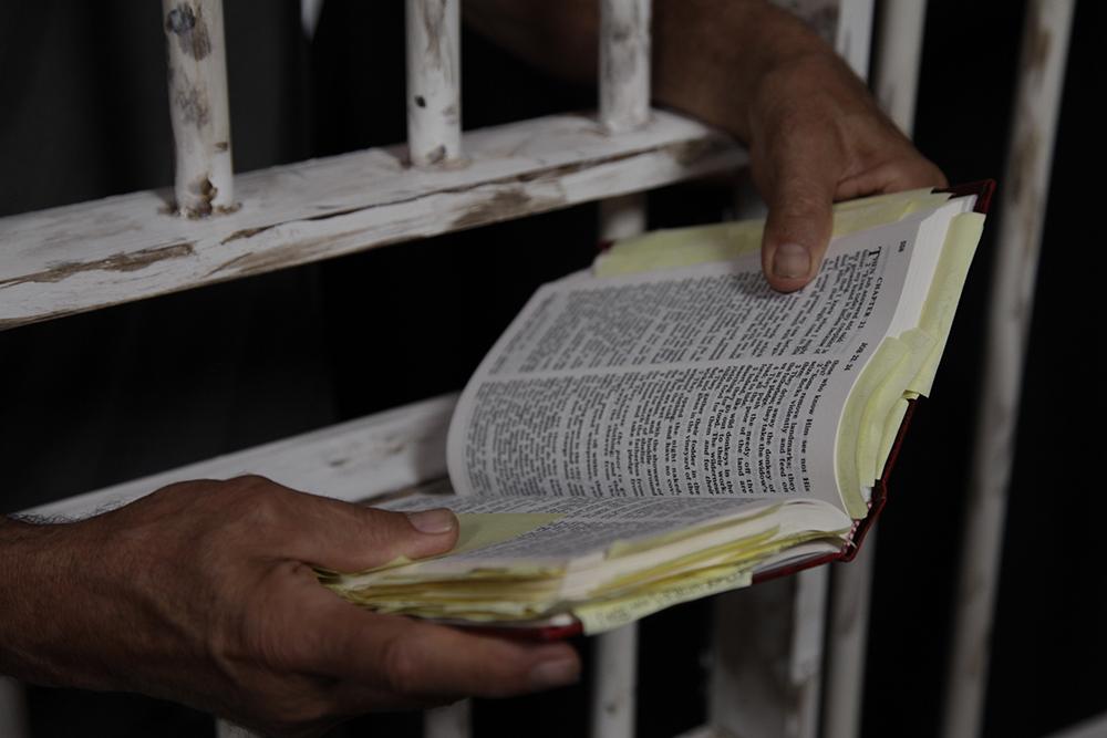 Bible reading prisoner UCC.org