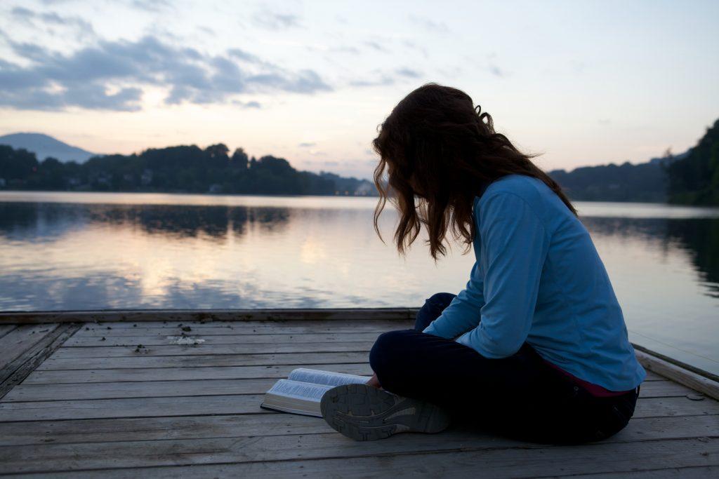Bible reading woman liberty chofc